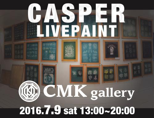 CASPER LivePaint 7/9 CMKgallery