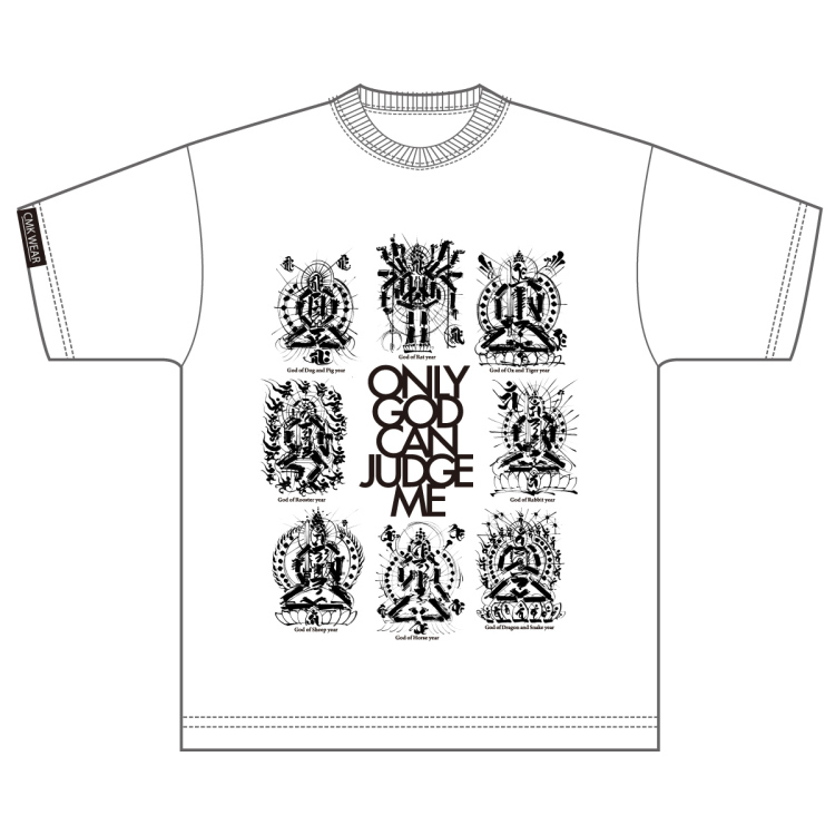 "CMK WEAR ""GODS"" 白"