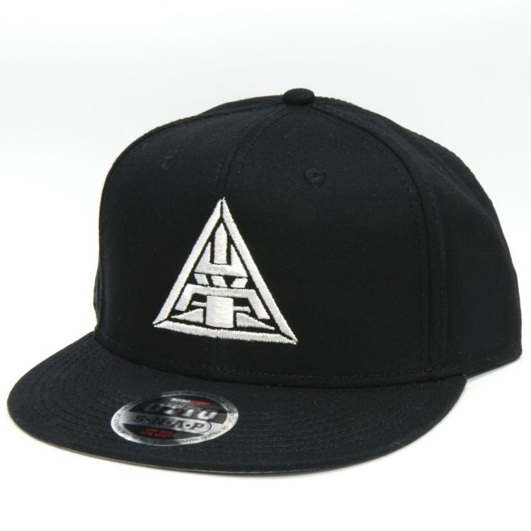 山栄CAP銀刺繍・黒