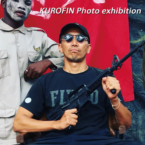 KUROFIN Photo exhibition